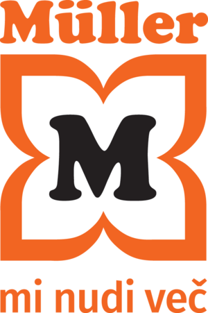 Müller logo | Kranj | Supernova Qlandia
